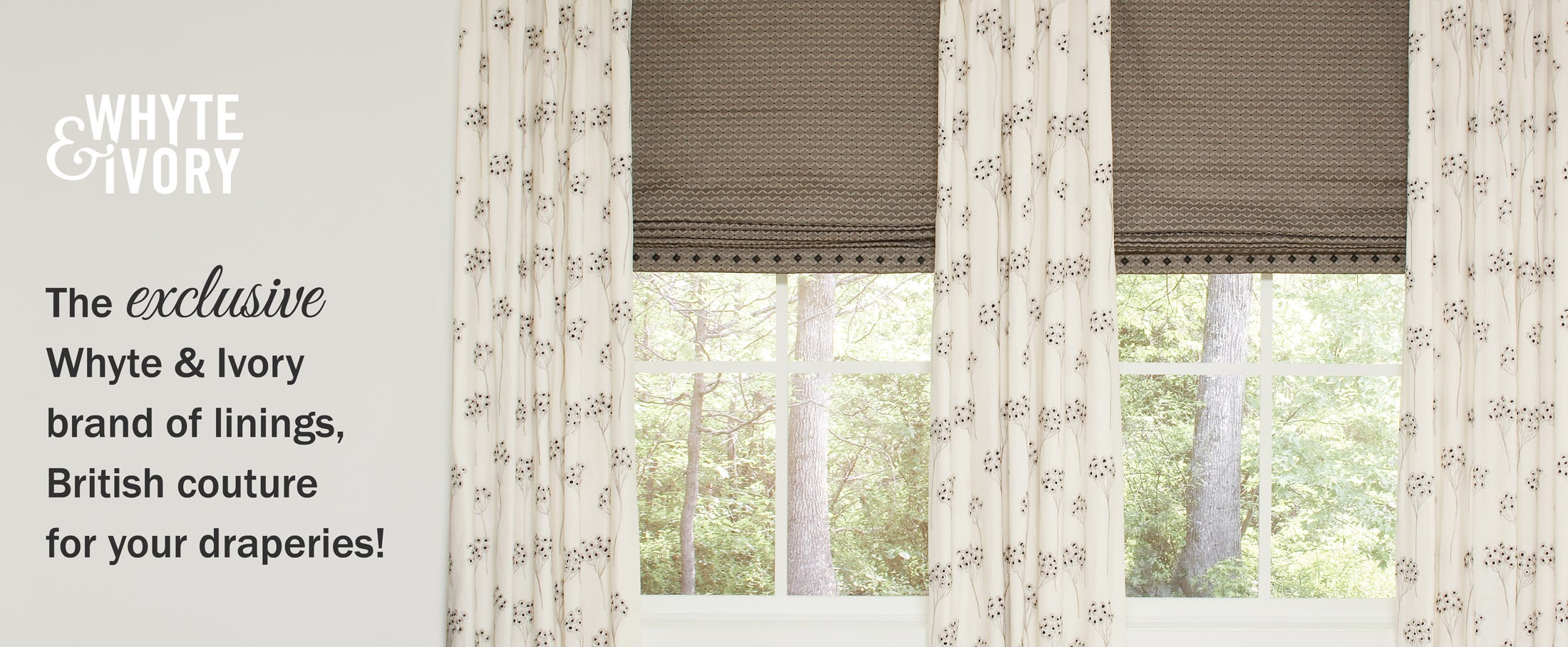 Whyte & Ivory Linings and Interlinings