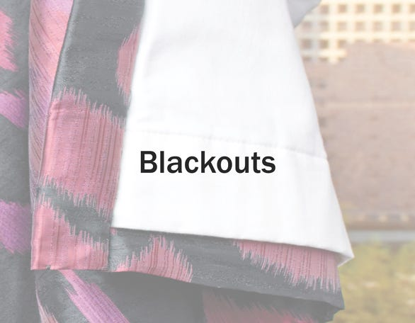 Whyte & Ivory Blackout Linings